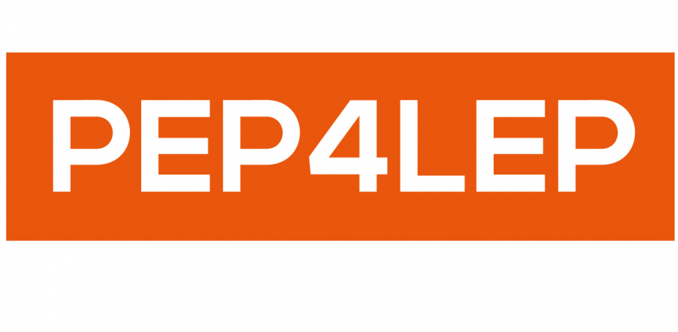 PEP4LEP project logo